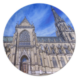 New Cathedral, Linz, Austria Plate