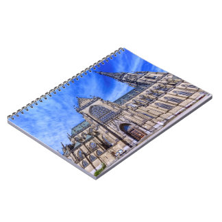 New Cathedral, Linz, Austria Spiral Notebook