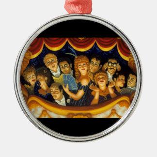 New Century Opera Silver-Colored Round Ornament