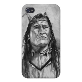 New Chest Piegan Indian iPhone 4 Cover