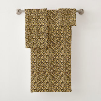 *New* Chic Leopard Print Towel Set