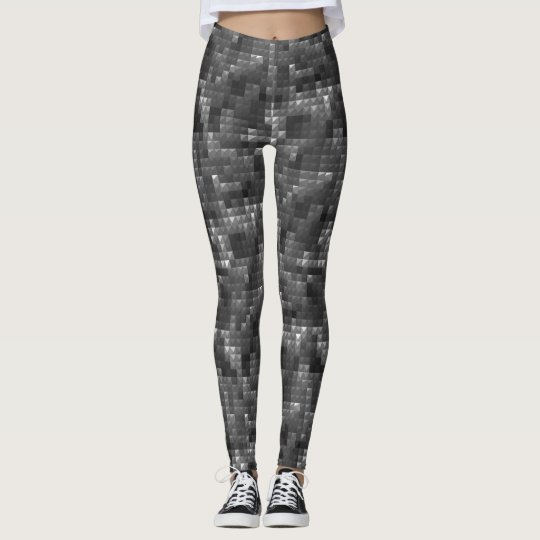 New Chick on the Grid Block 1 Leggings