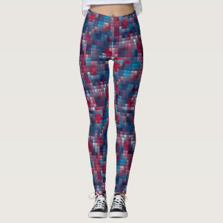 New Chick on the Grid Block 3 Leggings
