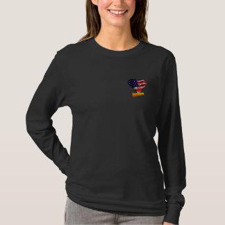 New Citizen US Flag Heart T-Shirt