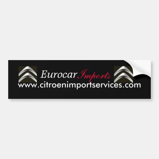 new citroen logo, new citroen logo, www.citroen... bumper sticker