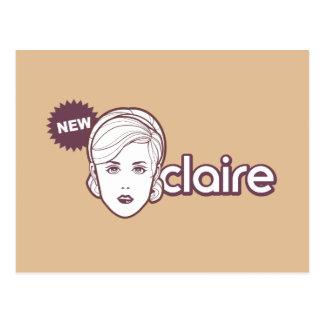 New Claire postcard