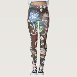 New Collage Leggings