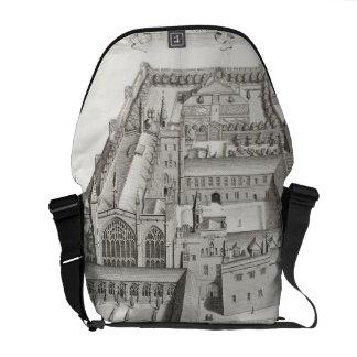 New College, Oxford, from 'Oxonia Illustrata', pub Courier Bag