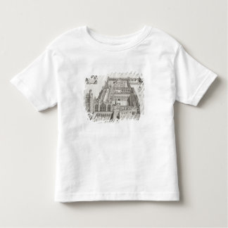 New College, Oxford, from 'Oxonia Illustrata', pub Tshirts