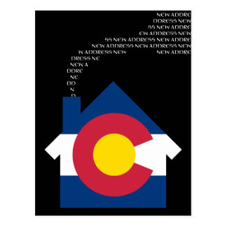 new colorado address postcard
