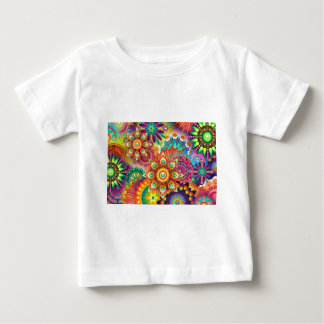 New Colorful Abstract BackGround Baby T-Shirt