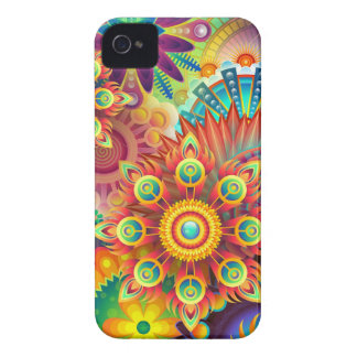 New Colorful Abstract BackGround Case-Mate iPhone 4 Case