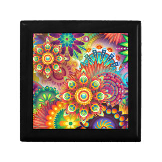 New Colorful Abstract BackGround Gift Box