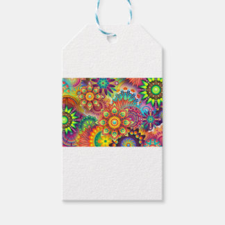 New Colorful Abstract BackGround Gift Tags