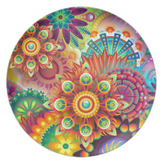 New Colorful Abstract BackGround Plate