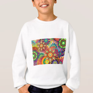 New Colorful Abstract BackGround Sweatshirt