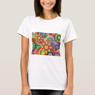 New Colorful Abstract BackGround T-Shirt
