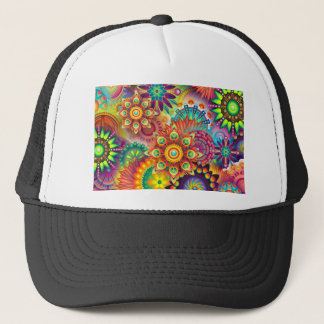 New Colorful Abstract BackGround Trucker Hat
