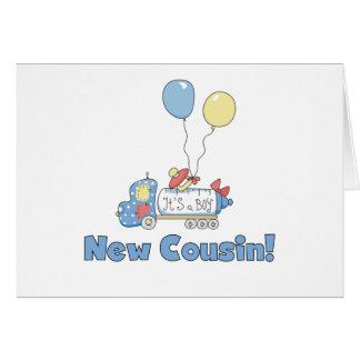 New Cousin It's a Boy Card