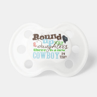New Cowboy in town Pacifier