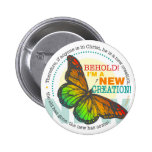 New Creation Butterfly Pin