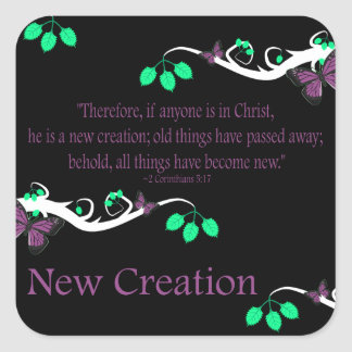 New Creation Stickers