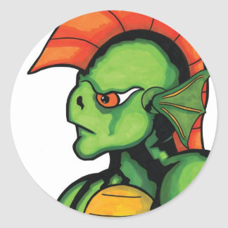 New Creature from the Black Lagoon Round Sticker