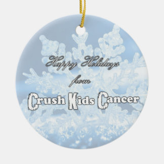NEW Crush Kids' Cancer 2014 Ornament