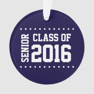 New Customizable Class of 2016 Ornament
