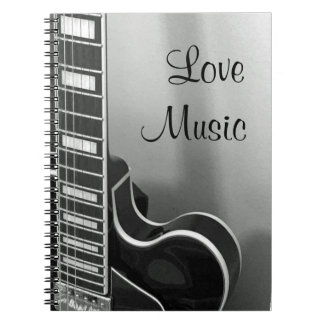 NEW Customizable Love Music Notebook