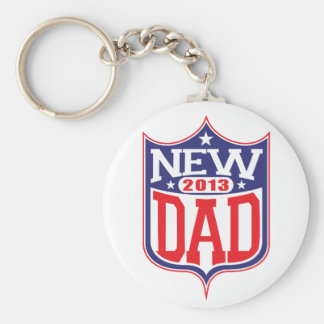 New Dad 2013 Keychain