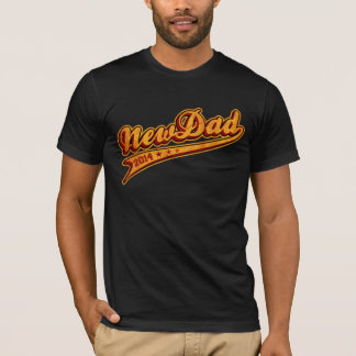 New Dad 2014 Curly T-Shirt