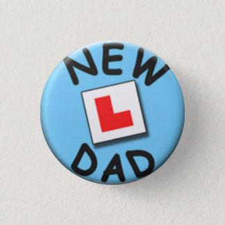 New dad badge 1 inch round button