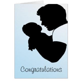 new dad, Congratulations Card