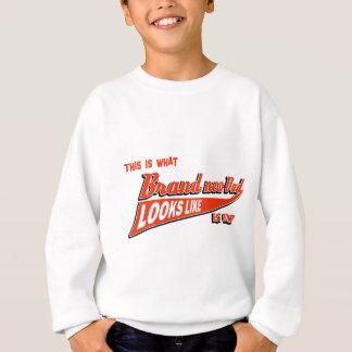 new dad design sweatshirt