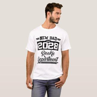NEW DAD EST 2028 ROOKIE DEPARTMENT T-Shirt