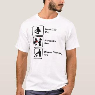 New Dad, Romantic, Diaper Changing T-Shirt