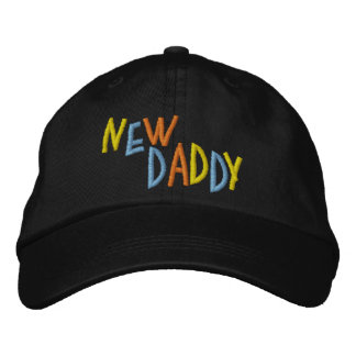 New Daddy Embroidered Hat