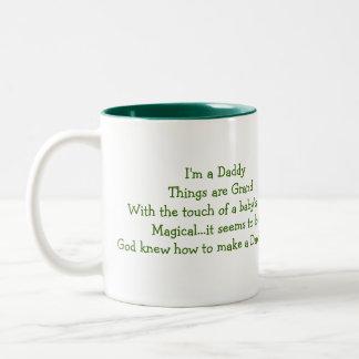 New Daddy!,Mug Two-Tone Mug