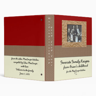 New daughter in law Cookbook Gift Binders