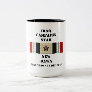 New Dawn  / CAMPAIGN STAR Two-Tone Mug
