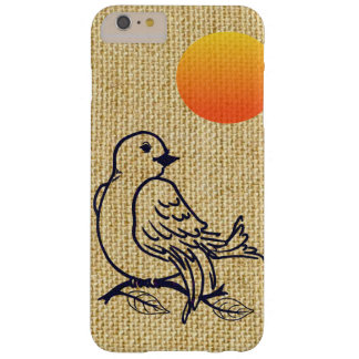 New Dawn on Natural Fabric Barely There iPhone 6 Plus Case