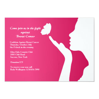 New Day Breast Cancer Fundraising Invitation