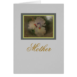 New Day Gardens Mother's Day- Iris 'Friendly Fire' Card