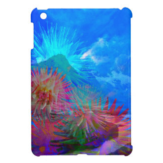 New day is coming up among flowers. iPad mini cover