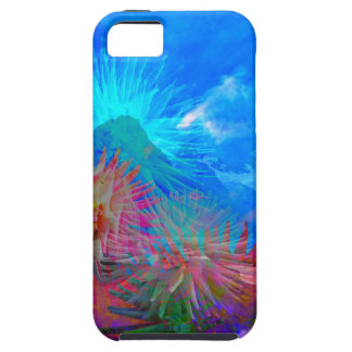New day is coming up among flowers. iPhone 5 covers