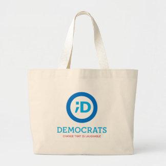 NEW Democrat Logo Wink Canvas Bag
