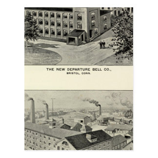 New Departure Bell Co, Miller Bros Cutlery Co Postcard