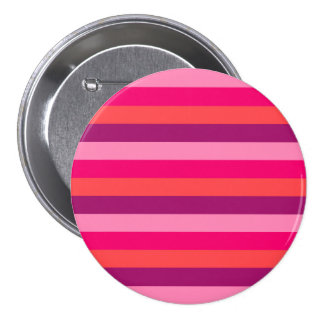 New designers stylish button : red Old stripes