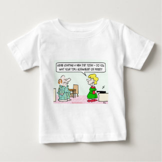 new diet tofu scramble fried baby T-Shirt
